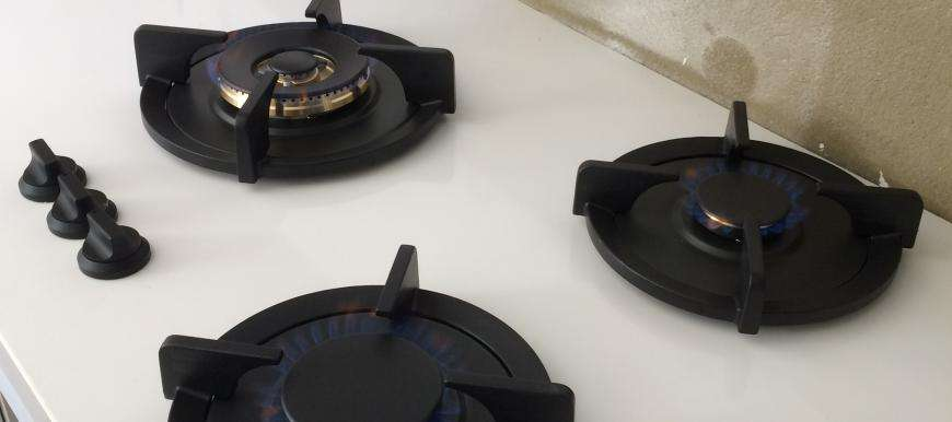 Pitt Cooking gas cooktops.